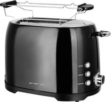 EMERIO TO-122102 Toaster med rist til boller Sort