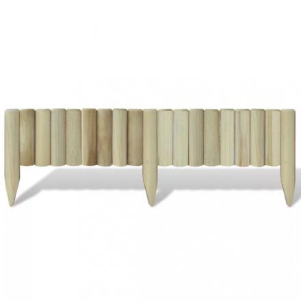 Plenkant tømmerstokk 120 x 35 cm - 5 stk