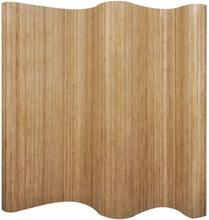 Romdeler bambus naturlig 250x165 cm
