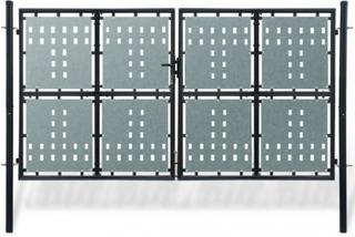 Dobbel dør hageport - 300 x 225 cm