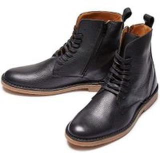 Sort Selected Homme Royce Leather Boot Sko