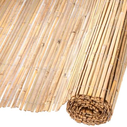 Nature havehegn bambus naturfarvet 1,5x5 m 6050121