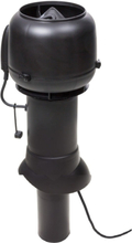 Vilpe Takfläkt Eco 110P/110/500 Svart/ Tegelröd