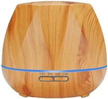 eStore Luftfuktare - Åttakantig och Ljust trä