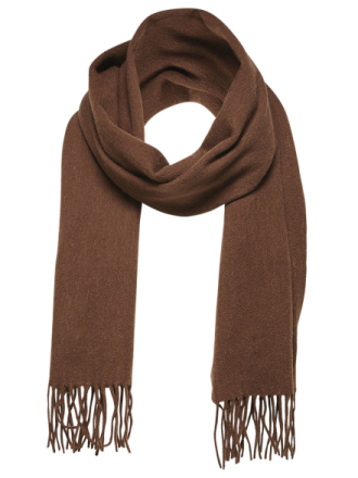 SELECTED Wool - Scarf Men Brown