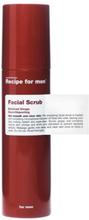 Recipe For Men Facial Scrub 100 ml Ansiktspleie Transparent