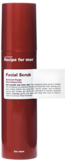 Recipe For Men Facial Scrub 100 ml Ansiktsvård Transparent