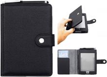 Antgamer Kindle Touch etui med Stylus Pen - PU skinn - svart