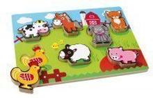 """Puzzle """"Farmtiere"""""""