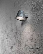 Konstsmide Vägglykta Trieste 7523-Galvaniserad