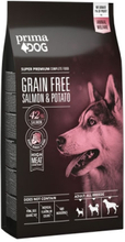Prima Dog Adult All Breeds Sensitive Lax & Potatis, Spannmålsfritt
