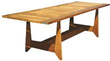 Gartentisch hartholz Amazone Teak