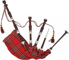 DEMO - Sekkepipe - Skotsk Great Highland - Rød
