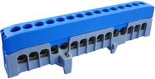 Neutral terminal blue n15-f2 15x16mm2