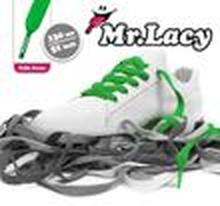 Mr. Lacy - Flatties Schnürsenkel - Kelly Green