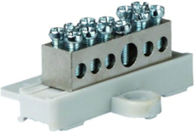 Earthing terminal with base 1x 6-25 5x 1.5- 6 mm2