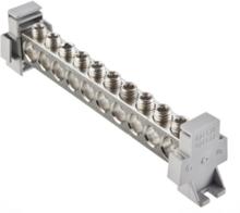 Potential equalizer busbar 2xal/cu 6-70 + 8xal/cu 6-50 mm2