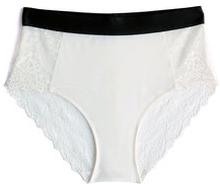 White Noise High Waist Panties