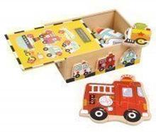 """Puzzle-Box """"Fahrzeuge"""""""