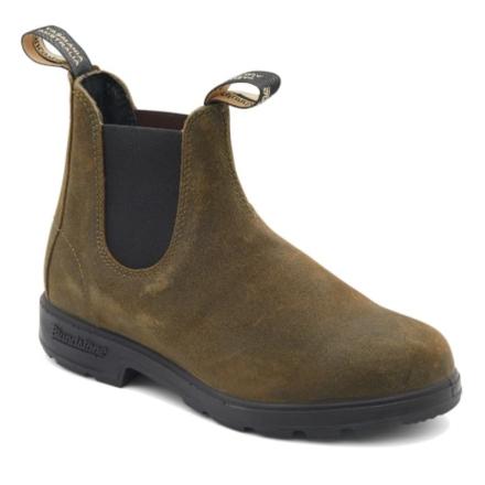 Blundstone Suede Boots Unisex Sko Grön UK 4/EU 37