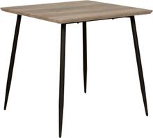 Smokey matbord 80x80 cm - Grå bets