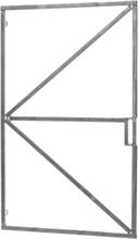 Gartentor Torrahmen 100cm verstellbar mit Schloßkasten