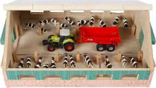Bondgård leksak i trä till leksaksdjur Kids Globe 1:87