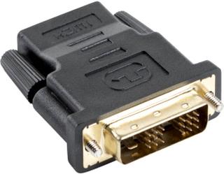 Adapter HDMI(ho) till DVI-D(ha)