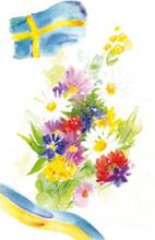 Gratulationskort mini Grattis 5