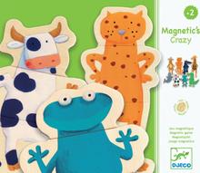 Djeco magnetset - Knasiga djur