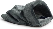 Beeztees lege- og sovepose til katte Teddy plys grå 50 x 40 cm 704753