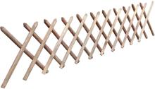 vidaXL Spaljéstaket impregnerat trä 250x60 cm