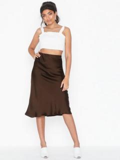 River Island Bias Cut Skirt Midi nederdele