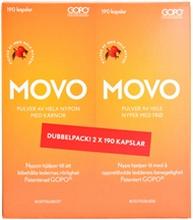MOVO 2x190 kapselia