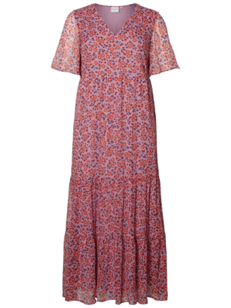 JUNAROSE Embroidered Dress Women Blue
