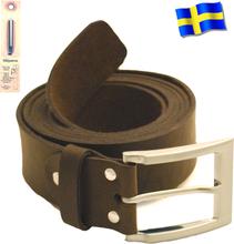 Läderbälte brun XL882B