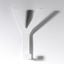 SMD Design Krokar Y Hook Midi- Mörkgrå