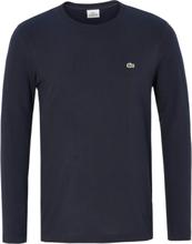 Shirt 100% katoen ronde hals Van Lacoste blauw