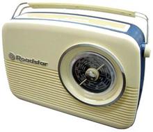 Roadstar Vintage Radio Creme / Vit