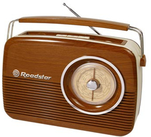 Roadstar Vintage Radio Trädesign