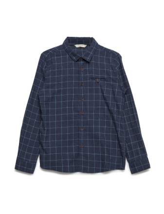 Check Cotton Shirt - Boozt
