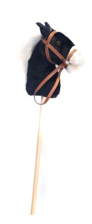 Käpphäst 95 cm svart