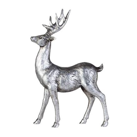 Lene Bjerre - Serafina Coll. Hjorte 22x6x35 cm, Sølv