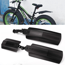 Snow Bicycle Mudguard Bike Fender Front Rear Mud Guard for 20 inch 26 inch Fat Bike MTB Bikes Outdoor Cycling Bicycle Fenders