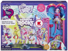 Hasbro MLP, Equestria Girls, Rainbow Rocks - Mane Event Stage
