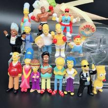 2pcs The simpsons New The simpsons Collection figure toy decoration action figure children toys retail