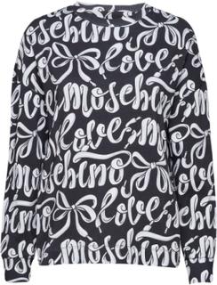 Love Moschino Sweatshirt Trøje Sort Love Moschino