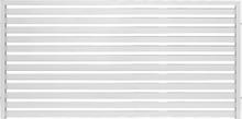 Jabo Skärm Horizont Vit Aluminium 2