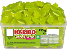 Haribo Terrific Turtles - Ask med Vingummi Grodor 750 gram