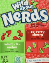 Wonka Nerds Sukkertøy med Vannmelon- og Kirsebærsmak (USA Import)